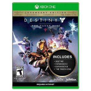 $7.99(原价$14.99)《命运:邪神降临》传奇典藏版 Xbox One