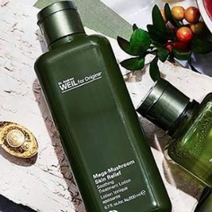 20% off  MEGA-MUSHROOM SKIN RELIEF SOOTHING TREATMENT LOTION+ a free super deluxe Checks & Balances cleanser (30ml) with any $45 purchase @ Origins