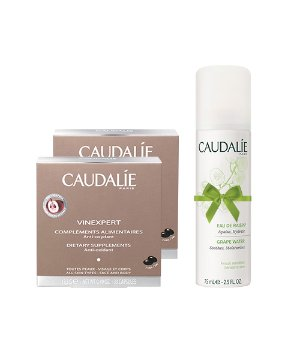 Dealmoon Exclusive!2 Supplements and 1 Travel Size Grape Water for $36 @ Caudalie