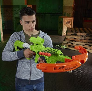 $22.06(原价$79.99)Nerf Zombie 攻击僵尸弓箭玩具