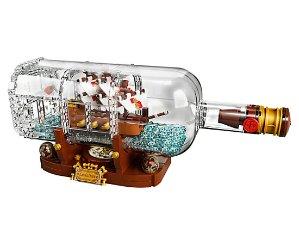 $69.99预告:LEGO 2月1日发布新品 Ideas系列之瓶中船 21313
