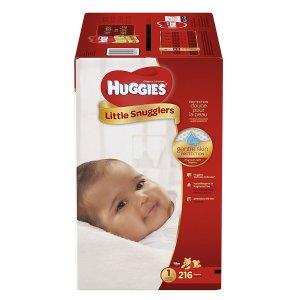 额外减$3+包邮Huggies 好奇尿布促销,单片低至$0.11
