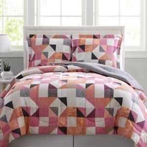 $13.87 - $19.99 3-PC Reversible Comforter Sets