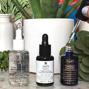 Receive 5 Deluxe Sample including a travel pouchSerums @ Kiehl's