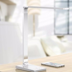 $12Aptoyu LED Dimmable Desk Lamp with 4 Lighting Modes