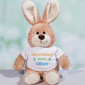 "$9Personalized 10"" Brown Bunnies @ 800 Bear"
