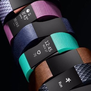 $74Fitbit Charge 2 Heart Rate + Fitness Wristband