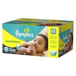 额外8折+包邮Pampers 帮宝适婴儿尿布特卖