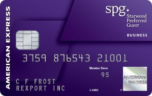 Earn 25,000 bonus Starpoints®. Terms Apply.Starwood Preferred Guest® Business Credit Card from American Express