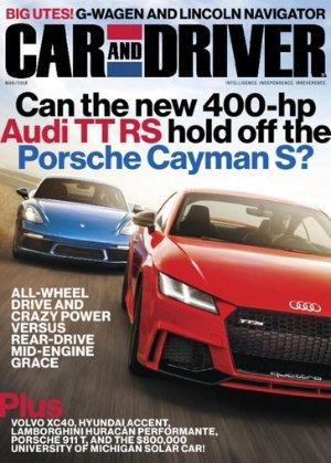 $12.00(原价$47.88)4年48期 Car and Driver 杂志订阅