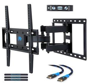 低至$15.39限今天:精选多款Mounting Dream 电视壁挂支架