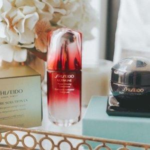 全线7.8折Shiseido 精选美妆、护肤品超值热卖