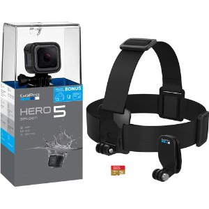 $219 免税包邮GoPro HERO5 Session 4K 运动相机套装