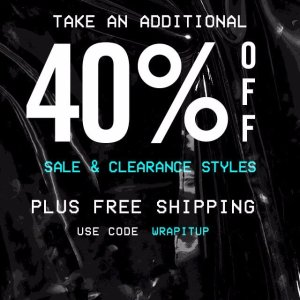 Extra 40% OffSteve Madden Sale