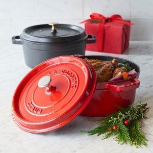 $99Staub 1102406 Round Cocotte Oven, 4 quart @ Sur La Table