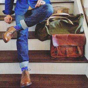 低至4折+额外6折 无门槛包邮Rockport 乐步男士商务皮鞋 休闲鞋折上折大促