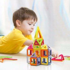 $49(原价$79) 包邮Dick Smith 精选磁力片积木拼装儿童玩具 128片