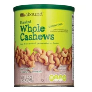$5.99Gold Emblem Brand Nuts Cashews 18.25 oz