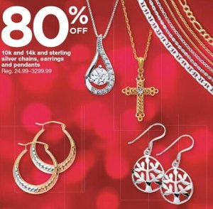 Up to 80% offFine Jewelry