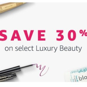 30% OFF Amazon Select Luxury Beauty Sale