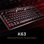 Corsair K63 Cherry MX Red Mechanical Keyboard