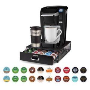 $99.99 包邮Keurig® K15 咖啡机+40个胶囊咖啡+2种配件