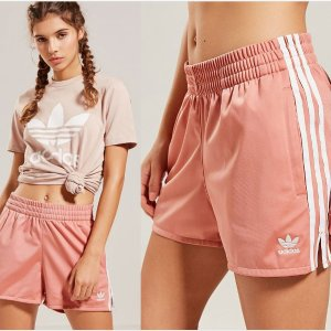 $30 + Free Shipping WOMEN'S ORIGINALS 3-STRIPES SHORTS @ adidas
