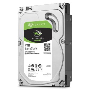 $99.99(原价$171.99)史低价:Seagate BarraCuda 希捷酷鱼 4TB 64MB SATA III 6Gb/s  3.5