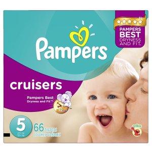 $19.99 (原价$29.97)Pampers Cruisers 帮宝适纸尿裤,5号66片