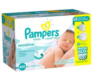 $19Pampers Sensitive Baby Wipes - 800 Count