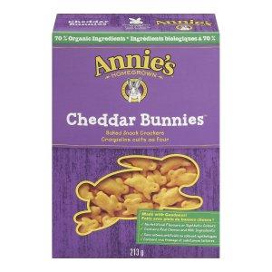 CDN$2Annie's Homegrown 奶酪口味兔子形状饼干