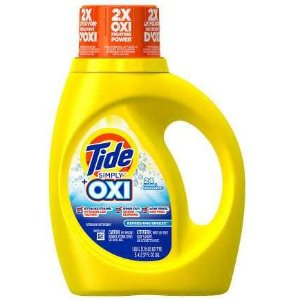 $1.99Tide HE Laundry Detergent With Oxi Liquid Simply Clean & Fresh