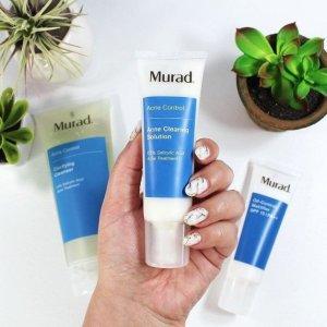 7折Murad Skin Care 祛痘系列全场促销