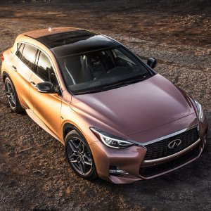Another Choice of Compact SUVInifiniti QX30: GLA's Japanese Cousin