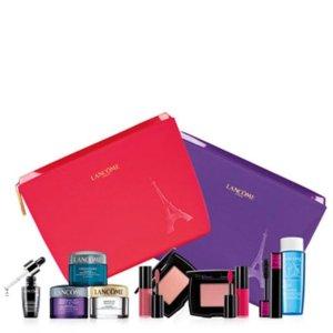 Free 7-Pc. Gift Setwith any $35 Lancome Beauty @ macy.com