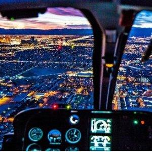 $117起 最多3人乘坐Las Vegas 拉斯维加斯大道夜景 15分钟直升机游览
