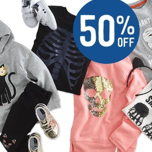 50% Off + Free Shipping Tricks + Treats Sale @ Crazy8