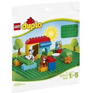 $11LEGO DUPLO Creative Play Lego Duplo Large Green Building Plate 2304 Building Kit
