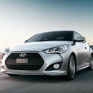 韩式欧巴的激情范Hyundai Veloster 运动掀背车