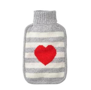 现价$22.12(原价$29.50)Indigo 条纹爱心图案暖水袋  两款可选