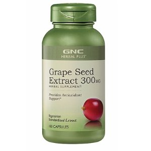 $11.99GNC Herbal Plus® Grape Seed Extract 300MG 100 Capsules