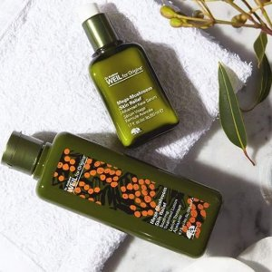 Free Dr. Weil Mega-Mushroom trio and  Full Size Checks & Balances Cleanserwith Orders over $65 @ Origins