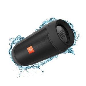$69.99 JBL Charge 2+ Splashproof Portable Bluetooth Speaker (Black)