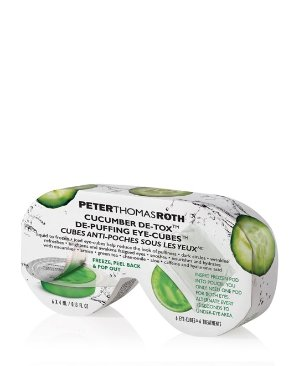 $12.5(原价$50)CUCUMBER DE-TOX DE-PUFFING青瓜冰块修复眼膜
