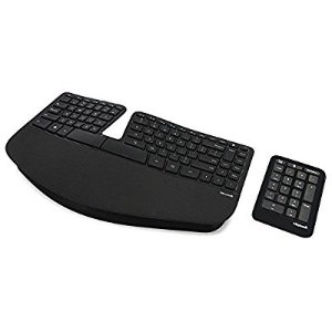 $55 Microsoft Sculpt Ergonomic Keyboard for Business (5KV-00001 )
