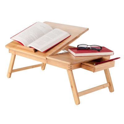 18 Winsome Wood Baldwin Lap Desk With Flip Top Bamboo